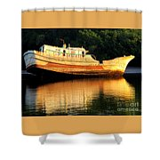 Costa Rica Wreck 4 Shower Curtain