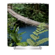 Costa Rican Indiana Jones Adventure Shower Curtain