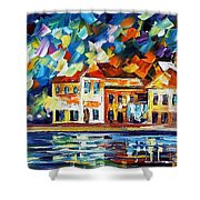 Costal Glimpse Shower Curtain
