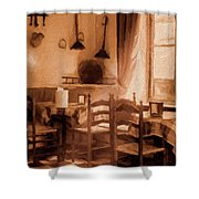Cosy Corner Shower Curtain
