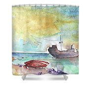 Costa Teguise 01 Shower Curtain