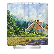 Cote Ste Anne De Beaupre Shower Curtain