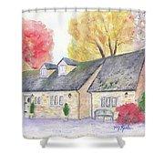 Cotswolds Cottage Shower Curtain