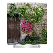 Cotswolds Milk Delivery Shower Curtain
