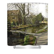 Cotswolds Scene. Shower Curtain