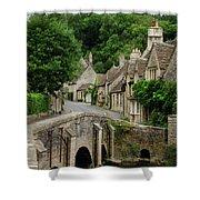 Cotswolds Village Castle Combe Shower Curtain