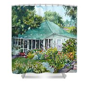 Cottage At Chautauqua Shower Curtain