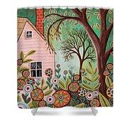 Cottage Garden 1 Shower Curtain