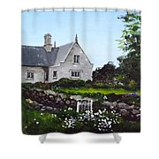 Cottage, Graiguenamanagh Shower Curtain