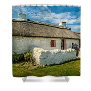 Cottage In Wales Shower Curtain