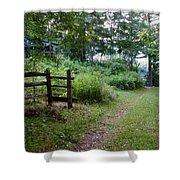Cottage Path Shower Curtain