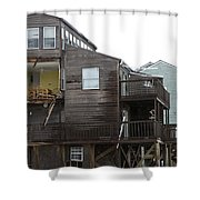 Cottages Of The Past Shower Curtain