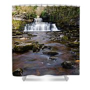 Cotter Force Shower Curtain