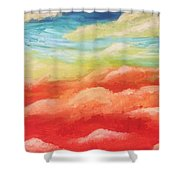 Cotton Candy Dreams Shower Curtain