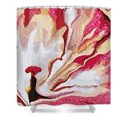 Cotton Candy Veggie-licous Shower Curtain