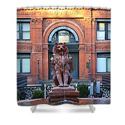 Cotton Exchange Building In Savannah  Shower Curtain