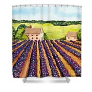 Cotton Fields Shower Curtain