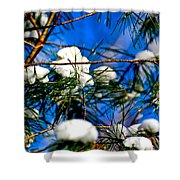 Cotton Pickin Snow Shower Curtain