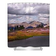 Cottonwood Pass Shower Curtain