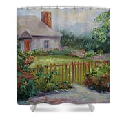 Cottswold Cottage Shower Curtain