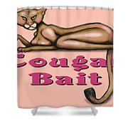 Cougar Bait Shower Curtain