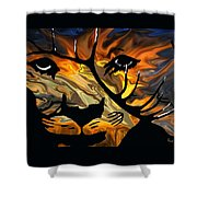 Cougar Elk   -015 Shower Curtain
