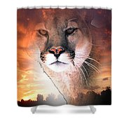 Cougar View Shower Curtain
