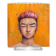 Couldn't Pick A Shirt Shower Curtain
