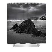 Coumeenoole Beach Shower Curtain