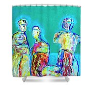 Council Of Elders Shower Curtain
