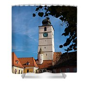 Council Tower Shower Curtain