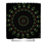 Count The Stars Mandala Shower Curtain