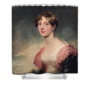 Countess Of Plymouth By Sir Thomas Lawrence Shower Curtain