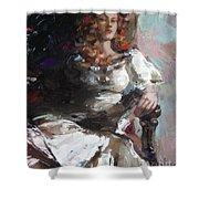 Countess Shower Curtain by Sergey Ignatenko