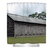 Country Barn - Well Used Shower Curtain