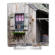 Country Cabin Shower Curtain
