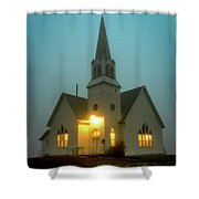 Country Church Shower Curtain