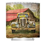Country Cousins In The Smoky Mountains Shower Curtain