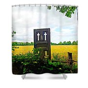 Country Crosses Shower Curtain