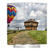 Country Cruising  Shower Curtain