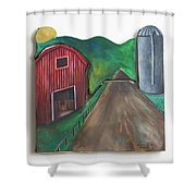 Country Day Shower Curtain