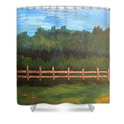 Country Days Shower Curtain