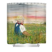 Country Dreams Shower Curtain