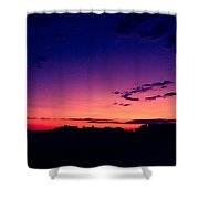 Country Dusk Shower Curtain