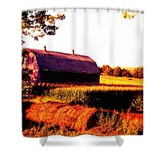 Country Farm Shower Curtain