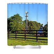 Country Farm Scene Shower Curtain by Doug Camara