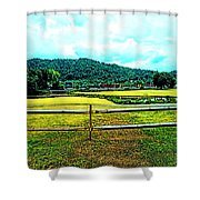 Country Field Shower Curtain