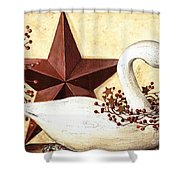Country Flair #101 Shower Curtain