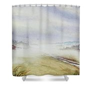 Country Fog Shower Curtain