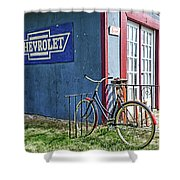 Country French Cafe Shower Curtain